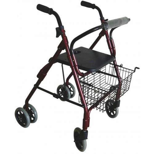 Aluminium Walker with 4 Wheels 2221