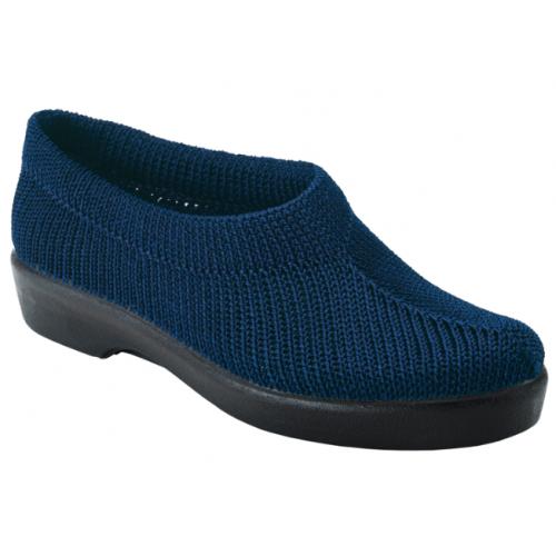 Sapato Lima  em Malha Azul