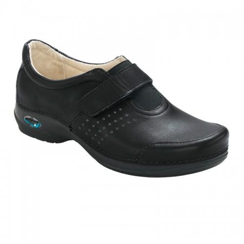 Sapato Wash'Go com velcro|Preto