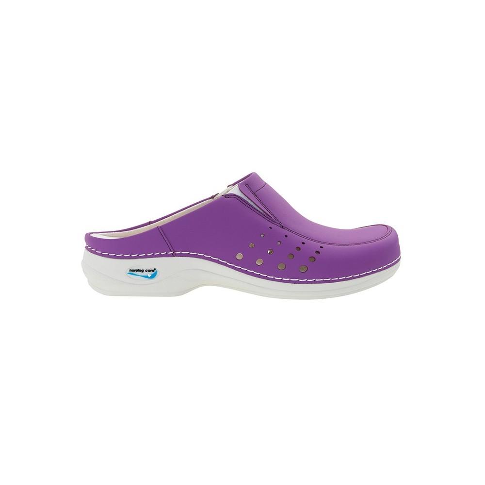 Soca Wash'Go com elásticos e furos| Púrpura