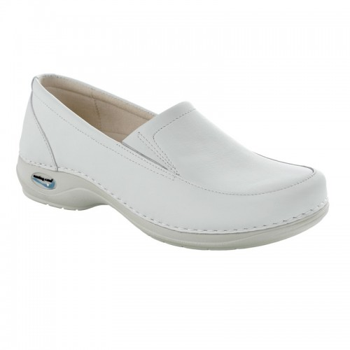 Moccasin Wash'Go with the rubber band-White