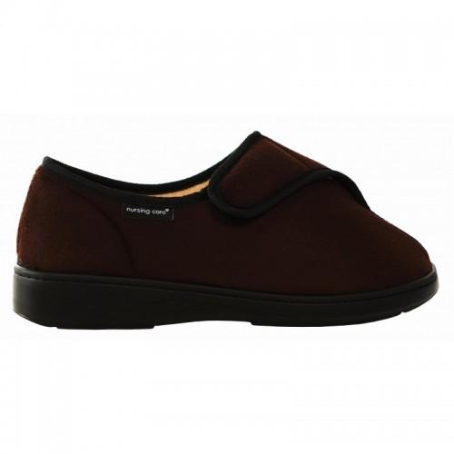 Sapato Têxtil Castanho