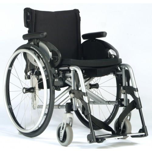 Cadeira de Rodas Ativa Easy Max Apoio de Pés Desmontáveis-Sunrise