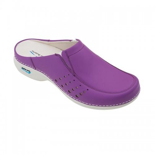Soca Wash'Go com elásticos e furos  Púrpura
