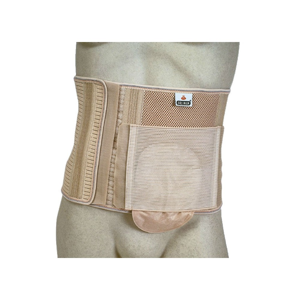 Band Abdominal for Ostomizados with Hole
