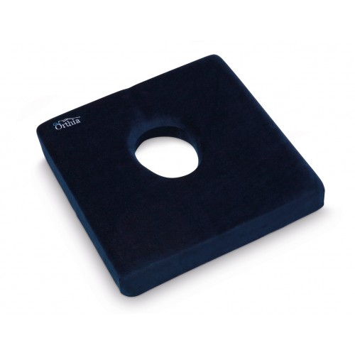 Cushion Square with Hole Orthia