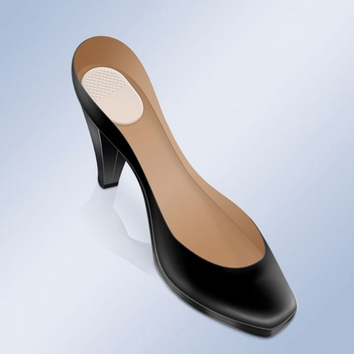 Talonete Cushion Adhesive to the Heel