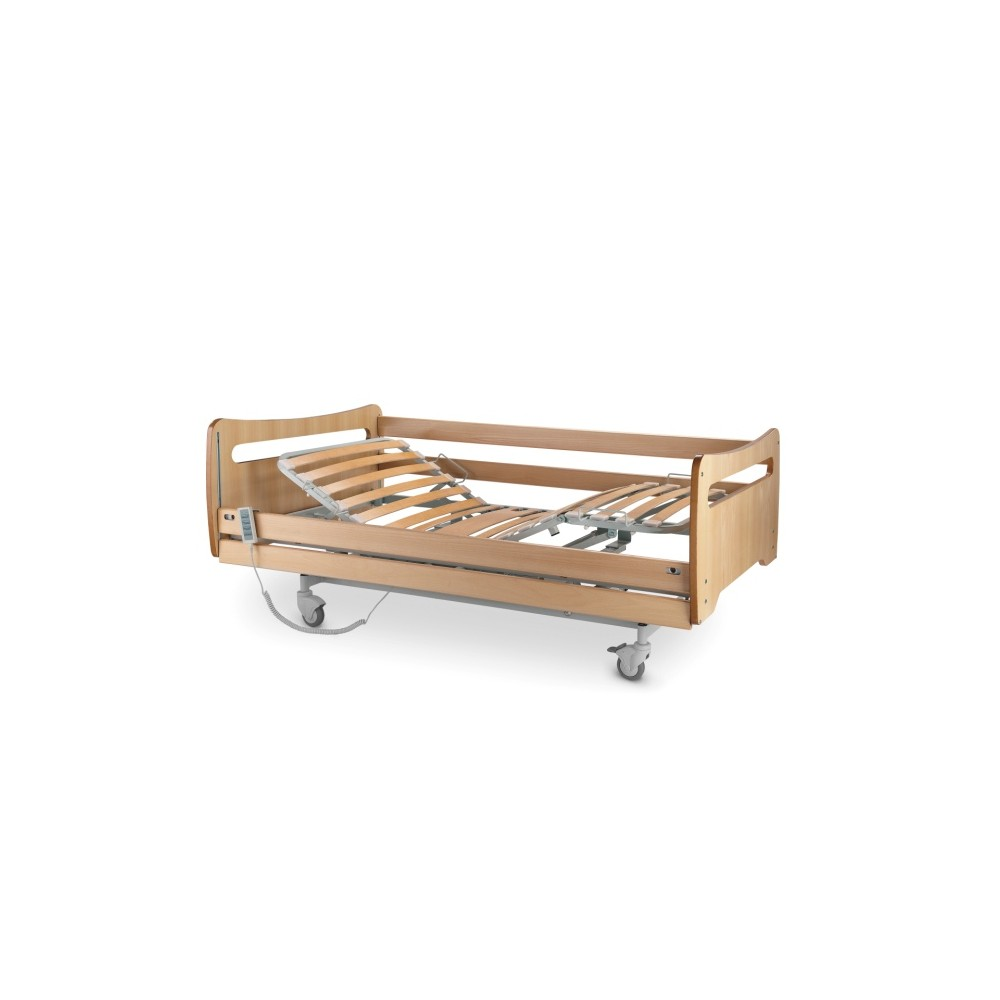 Bed Articulated Electric 6200 Variable Height Wooden JMS