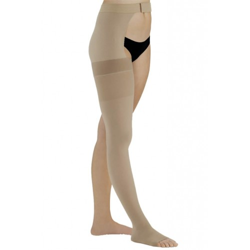 Compression stocking With Waistband Without Toe cap