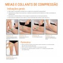 Thigh-high compression stockings Without Toe cap