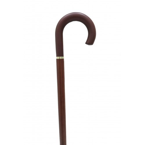 Walking Cane with Curved Handle