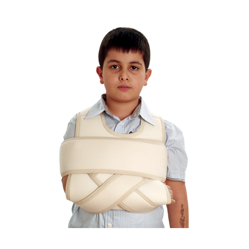 Support Arm with Immobilization of the Shoulder Child