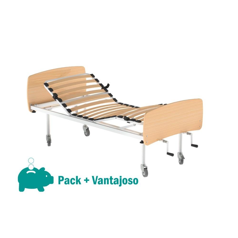 Pack de Cama Hospitalar Manual