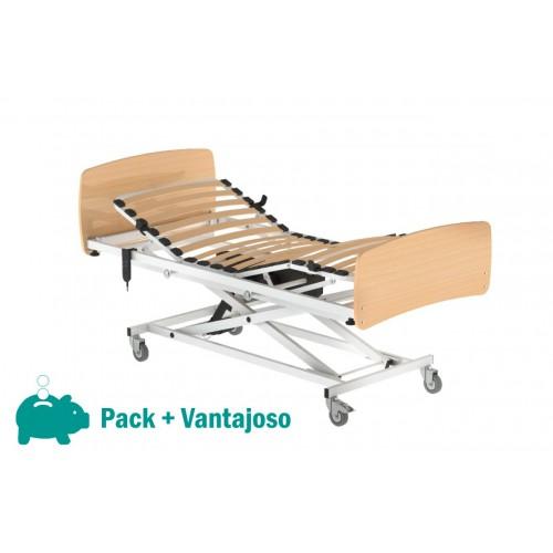Pack Cama Hospitalar Elétrica com Altura Variável