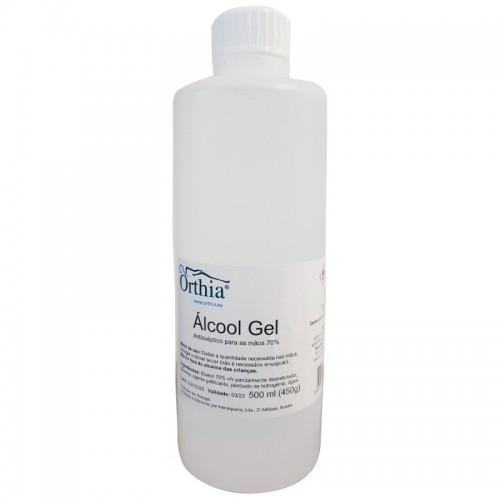 Gel Desinfetante de Mãos com Álcool 500 ml