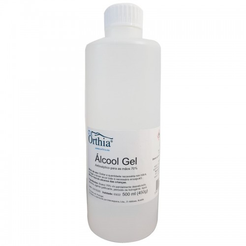 Hand Disinfectant Gel with Alcohol 500 ml