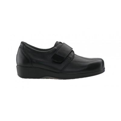 Sapato Diabético Senhora Walk Preto