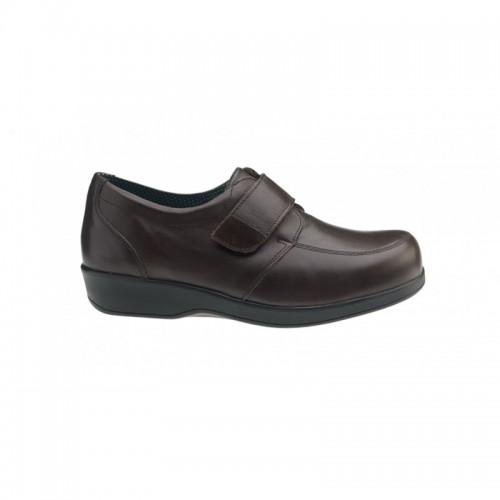 Sapato Diabético Senhora Walk Castanho