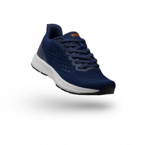 Work Sneakers Wock Breelite Navy Blue