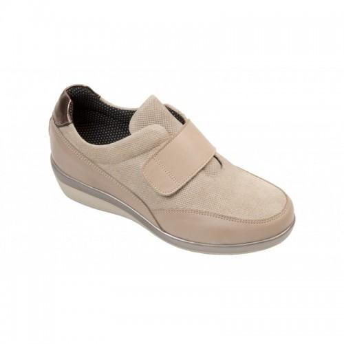Sapato Diabético Ana Taupe