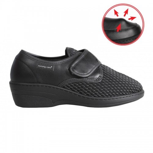 Sapato senhora Stretch Buçaco preto