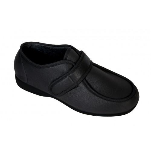 Sapato com Abertura Ampla Optimum Caju