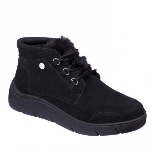 La Thuile Black Women Boots
