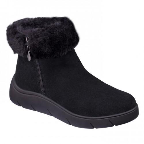 Courmayeur Black Women Boots