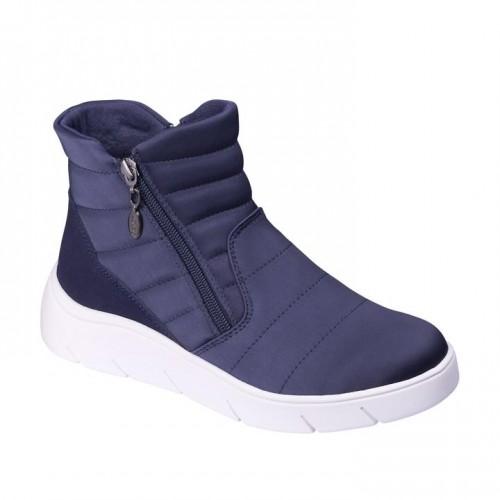 Dr. Scholl Aprica Navy Blue Women Boots