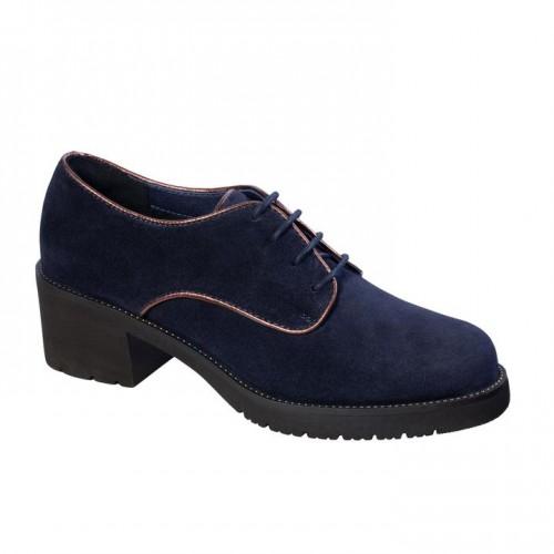 Dr Scholl Petra Laces Navy Blue Women Shoes