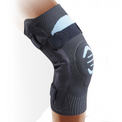 Ligament Knee Bracket with Lateral Reinforcements