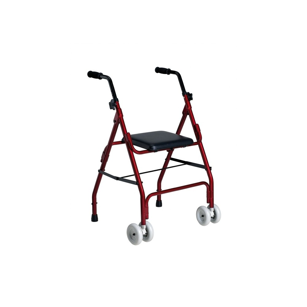 Walker Aluminum with 2 Wheels and Seat