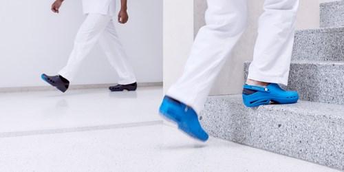 Socas hospitalares: leves e ideais para longas horas de trabalho